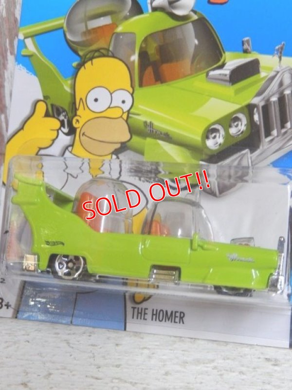 画像2: ct-150317-11 the Simpsons / Hot Wheels 2015 THE HOMER