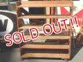 dp-150317-07 Vintage Wood Shelf Cart