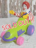 "ct-150407-72 McDonald's / Ronald McDonald 1992 Meal Toy ""Skateboard"""