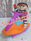 "ct-150407-72 McDonald's / Hamburgler 1992 Meal Toy ""Jet Ski"""