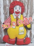 ct-150407-70 McDonald's / Ronald McDonald 80's mini cloth doll
