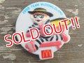 ct-150407-67 McDonald's / 1988 Hamburgler Plastic Clip