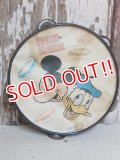 ct-150519-46 Mickey Mouse & Donald Duck / Vintage Tambourine