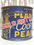 dp-150609-05 Planters / Mr.Peanuts 40's-50's Cocktail Peanuts Tin Can