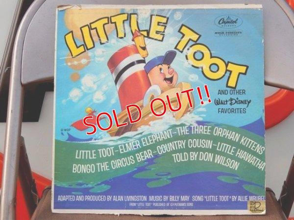 画像1: ct-150701-02 Little Toot / 60's Record
