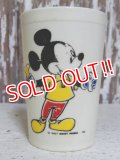ct-150804-31 Mickey Mouse,Donald Duck and Pluto / Eagle 60's-70's Juice Tumbler