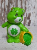 "ct-150811-31 Care Bears / Kenner 80's PVC ""Good Luck Bear"""