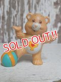 "ct-150811-31 Care Bears / Kenner 80's PVC ""Champ Bear"""