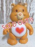 """ct-150811-31 Care Bears / Kenner 80's PVC """"Tender Heart Bear"""""""