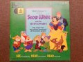 ct-150818-29 Snow White / 60's Record and  Book