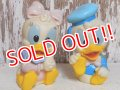 ct-150901-28 Baby Donald Duck & Daisy Duck / 80's-90's Rubber Toy