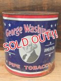 dp-150902-04 George Washington / Vintage Pipe Tobacco Can