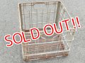 dp-150902-02 Vintage Wire Basket