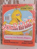ct-150526-38 Sesame Street / Big Bird's Red Book 70's Little Golden Book