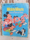 ct-150526-36 Mickey Mouse / The Kitten Sitters Little Golden Book