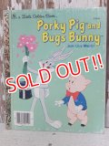 ct-150526-40 Porky Pig and Bugs Bunny / Just Like Magic! 70's Little Golden Book