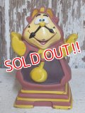 ct-150811-21 Cogsworth / 90's Soft Vinyl Figure