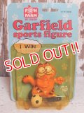 "ct-150922-54 Garfield / 80's PVC ""Soccer"""