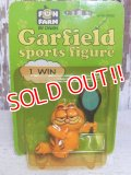 "ct-150922-54 Garfield / 80's PVC ""Tennis"""