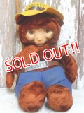 ct-151001-13 Smokey Bear / IDEAL 50's Plush Doll