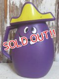 "ct-151005-05 Pillsbury / 70's Funny Face ""Goofy Grape"" Plastic Jug"