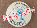 "ct-151005-09 Smurf / 80's Pinback ""I've been"""
