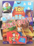 "ct-151014-30 TOY STORY / Woody Think Way 90's Action Figure ""Fighter Woody"""