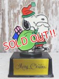 "ct-151103-30 Snoopy / AVIVA 70's Trophy ""Merry Christmas"""