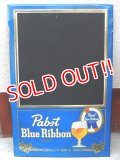 dp-151104-07 Pabst Blue Ribbon / 70's〜 Menu Board Sign