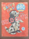 "ct-151104-13 Vintage Cloth Book ""BABY'S FIRST ABC"""