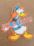 ct-151110-09 Donald Duck / 70's Vinyl Magnet