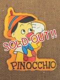 ct-151110-09 Pinocchio / 70's Vinyl Magnet