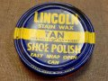 "dp-151201-09 Lincoln / Shoe Polish Can ""Tan"""