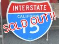 "dp-151201-32 INTERSTATE Sign ""California 15"""