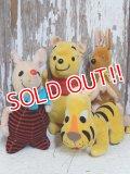 ct-160106-11 Winnie the Pooh / 60's Plush Doll Set
