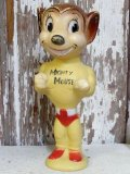 ct-160106-05 Mighty Mouse / 50's-60's Rubber Doll