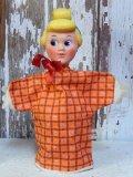 ct-160113-34 Cinderella / Gund 50's-60's Hand puppet