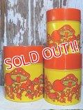 dp-151104-12 Vintage Mushroom Tin Canister