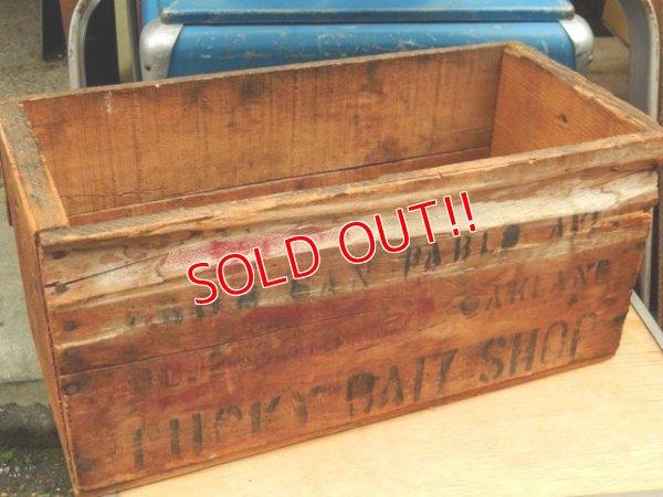 画像2: dp-160201-11 Lucky Bite Shop / Vintage Wood Box
