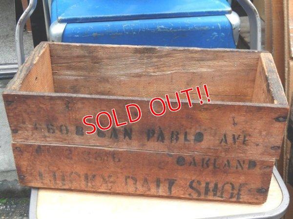 画像1: dp-160201-11 Lucky Bite Shop / Vintage Wood Box