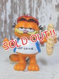 ct-160215-03 Garfield / Bully 80's PVC Keyring
