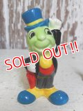 ct-160401-01 Jiminy Cricket / 80's Ceramic Figure