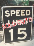 dp-160401-22 Rod Sign / 50's〜SPEED LIMIT 15