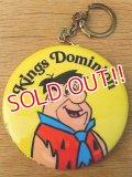 ct-160401-22 Fred Flintstone / Button Key Ring