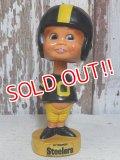 "ct-160309-55 NFL 70's Bobble Head ""Pittsburgh Steelers"""