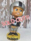 "ct-160309-55 NFL 70's Bobble Head ""Oakland Raiders"""