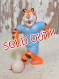 "ct-160409-34 Kellogg's Tony the Tiger / 90's PVC ""Soccer"""