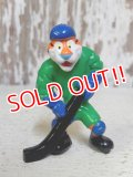 "ct-160409-31 Kellogg's Tony the Tiger / 90's PVC ""Hockey"""