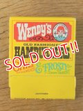 mt-150218-04 Wendy's / Vintage Match Book