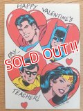 ct-160512-01 DC Comics / 80's Greeting Card